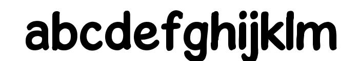 GosmickSansBold Font LOWERCASE