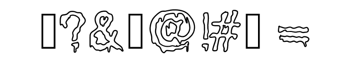 GotBrain Font OTHER CHARS