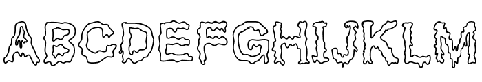 GotBrain Font UPPERCASE