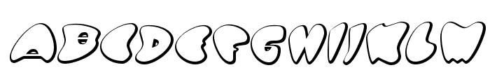 GotNoHeart-Regular Font UPPERCASE