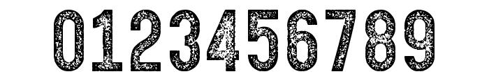 Gotcha Gothic Stamp Font OTHER CHARS