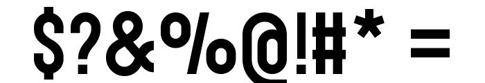 Gotcha Gothic Font OTHER CHARS