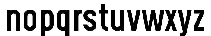 Gotcha Gothic Font LOWERCASE