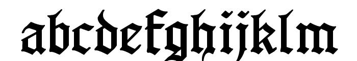 GotenborgFraktur Font LOWERCASE
