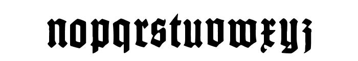 Gotenburg A Bold Font LOWERCASE