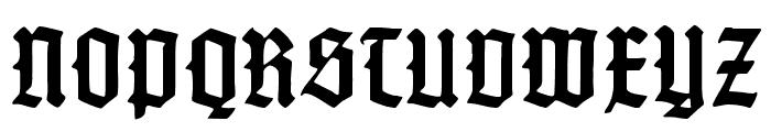 Gotenburg B Bold Font UPPERCASE