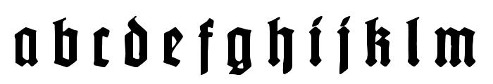 Gotenburg B UNZ_1_L Bold Italic Font LOWERCASE