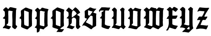 GotenburgB-Bold Font UPPERCASE