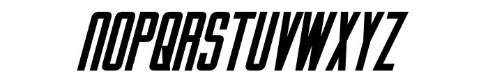 Gotham Nights Bold Italic Font UPPERCASE