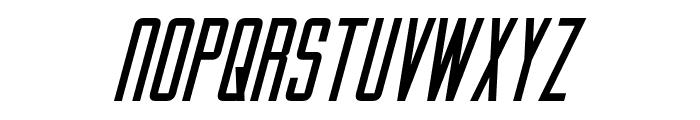 Gotham Nights Italic Font UPPERCASE