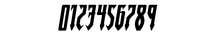 Gotharctica Expanded Italic Font OTHER CHARS