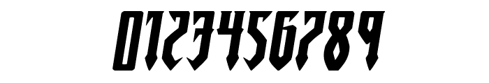 Gotharctica Extra-Expanded Italic Font OTHER CHARS