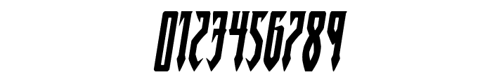 Gotharctica Italic Font OTHER CHARS