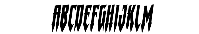 Gotharctica Rotalic Font UPPERCASE