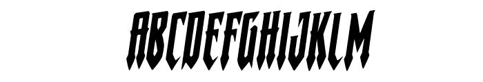 Gotharctica Rotalic Font LOWERCASE