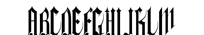 Gothferatu Font UPPERCASE