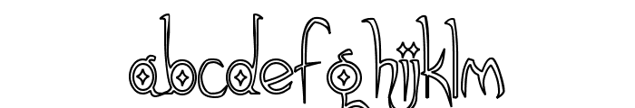 Gothic Hijinx Hollow Font LOWERCASE