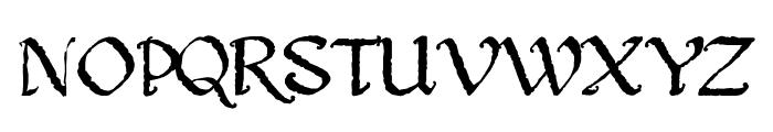 Gothic Ultra Trendy Font UPPERCASE