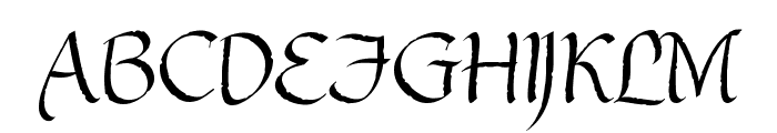 Gothic Ultra Font UPPERCASE