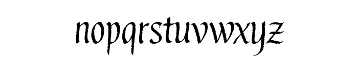 Gothic Ultra Font LOWERCASE