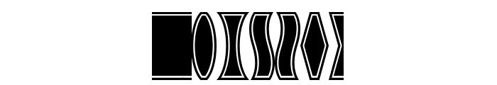 GothicExtras-A Font LOWERCASE