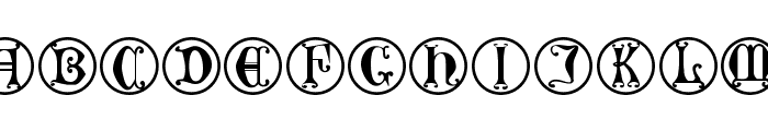 GothicLetters Font LOWERCASE