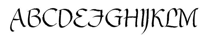 GothicUltraOT Font UPPERCASE