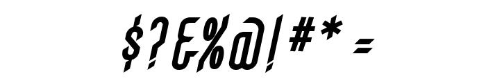 Gothikka Bold Italic Font OTHER CHARS
