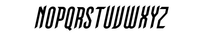 Gothikka Bold Italic Font UPPERCASE