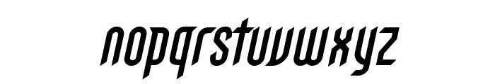 Gothikka Bold Italic Font LOWERCASE