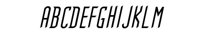 Gothikka Italic Font UPPERCASE