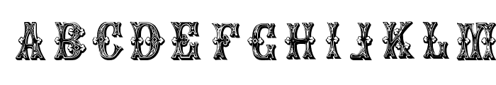 GoticCaps Font UPPERCASE