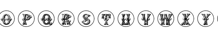GoticCaps Font LOWERCASE