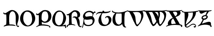 GoticaBastard Font UPPERCASE