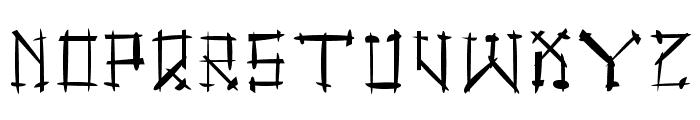Gotika Brokas Font UPPERCASE