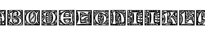 GotischeInitialen Font UPPERCASE