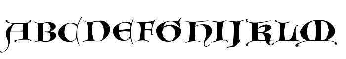 GotischeMajuskel Font UPPERCASE