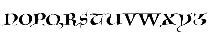 GotischeMajuskel Font LOWERCASE