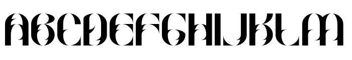 Goud Ornate Regular Font UPPERCASE
