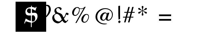 GoudamentBricks Font OTHER CHARS