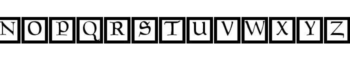GoudamentBricks Font LOWERCASE