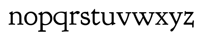 Goudy Bookletter 1911 Regular Font LOWERCASE