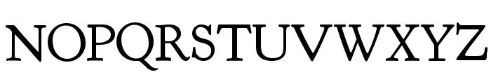 Goudy Bookletter 1911 TT Regular Font UPPERCASE