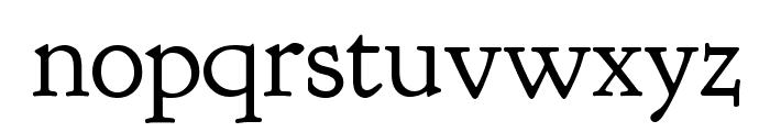 Goudy Bookletter 1911 TT Regular Font LOWERCASE