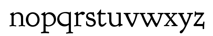 Goudy Bookletter 1911 Font LOWERCASE