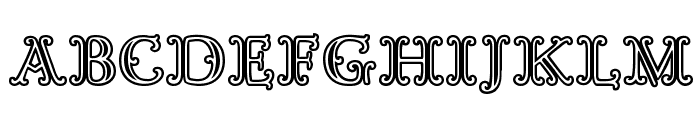 Goudy Decor InitialC Font UPPERCASE