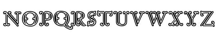 Goudy Decor InitialC Font LOWERCASE