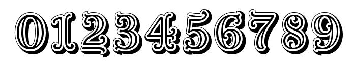 Goudy Decor ShodwnC Font OTHER CHARS