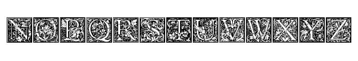 Goudy Initialen Font UPPERCASE