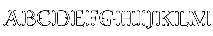 Goudy OrnateC Font UPPERCASE